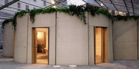 La nueva casa impresa 3D Housing 05 camina hacia una construcción más sostenible