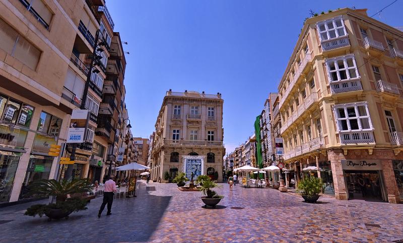 Calles de la región de Murcia