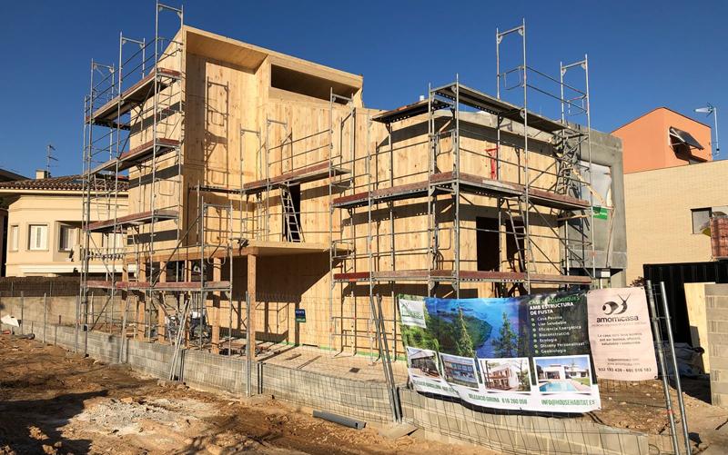 Nuevo proyecto de construcción de House Habitat en madera CLT