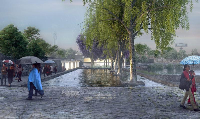 Hydropuncture es un complejo de gestión de agua con acceso público en México