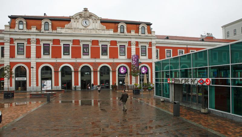 Estación de Príncipe Pío en Madrid