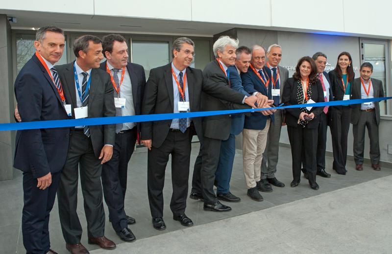Inauguración del nuevo centro Saint-Gobain en Barcelona.