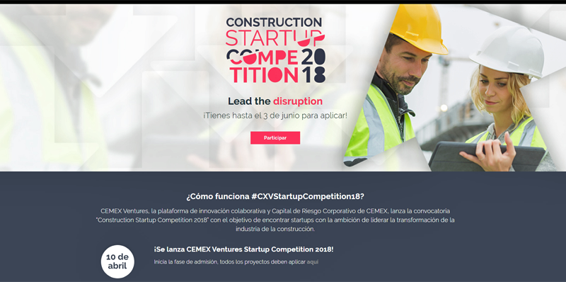 Construction Startup Competition 2018