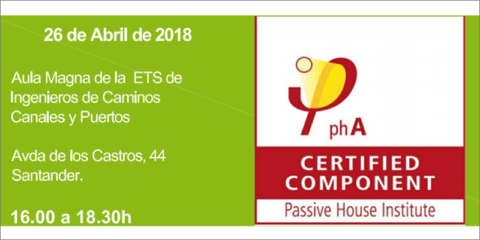 La Universidad de Cantabria acoge una jornada para abordar las claves sobre las construcciones bajo el estándar Passivhaus
