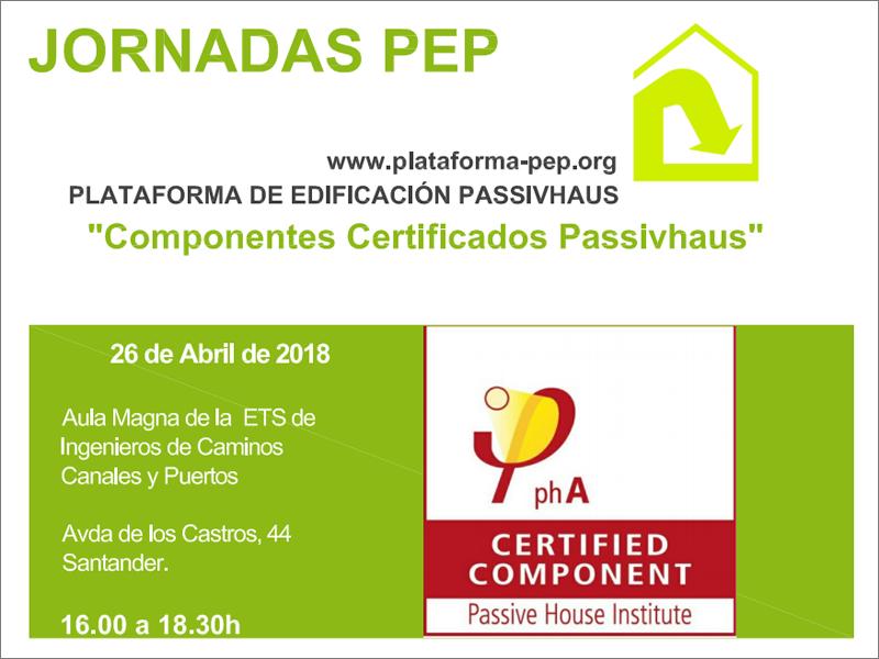 Jornada Componentes Certificados Passivhaus
