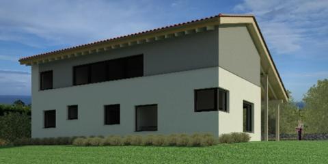 Casa Queta: Un EECN concebido para disfrutar la orientación norte