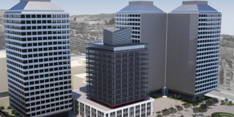 Torre Marina de Iberdrola Inmobiliaria: Icono de edificios de oficinas de energía casi nula a gran altura