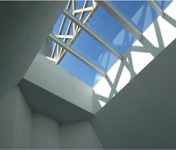 Figura 7. Lucernario hall acceso. Vidrio seguridad cámara argón 12 mm.