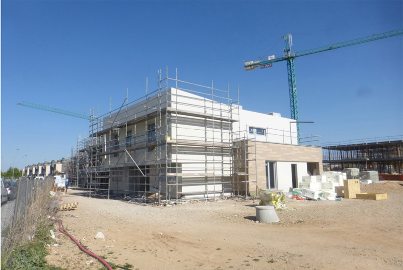 Imagen 8. Vista general de vivienda con acabados I.