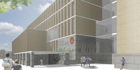 Edificio departamental de la Facultad de Filosofía y Letras de la Universidad de Zaragoza