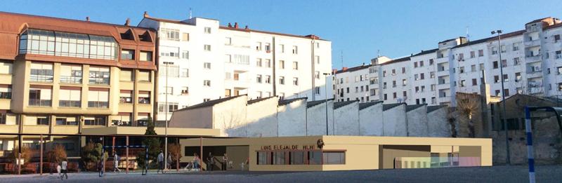 Exterior de la escuela infantil Vitoria-Gasteiz