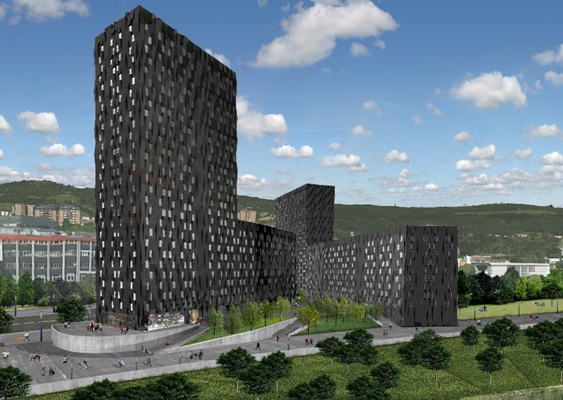 vista edificación