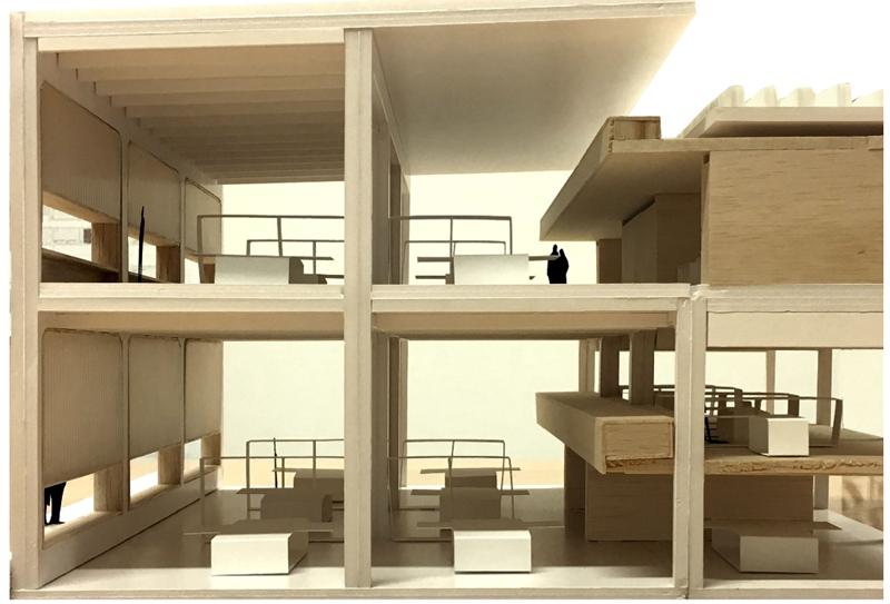 Sección del edificio