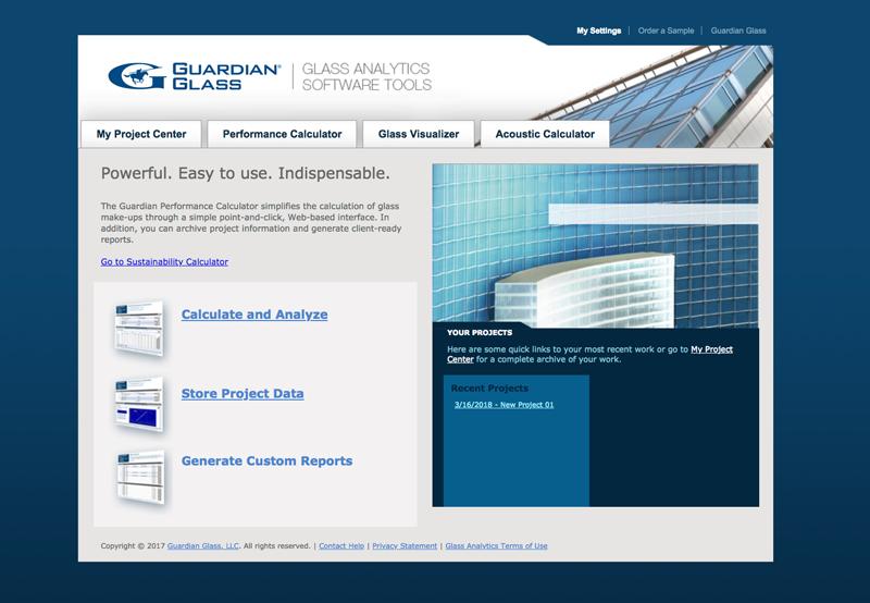 Glass Analyticis, un conjunto de herramientas para mejorar el análisis de las prestaciones del vidrio