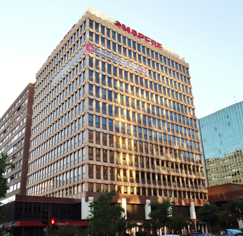 Un edificio de oficinas de mapfre en madrid consigue el certificado de sostenibilidad leed - Oficinas de mapfre en madrid ...