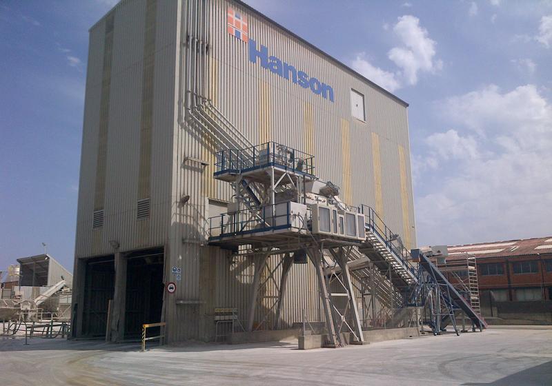 Planta Hanson en Barcelona