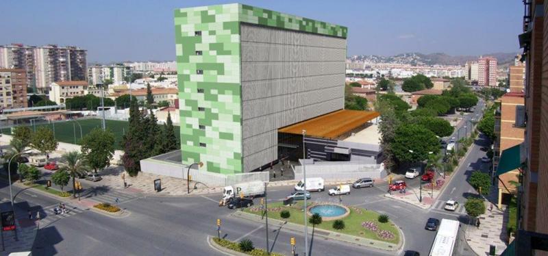 Nuevo edificio administrativo de la Junta de Andalucía en Málaga