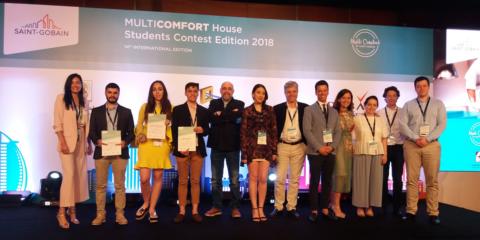 Premio especial para la Escuela de Arquitectura de Valladolid en la final del Concurso de Estudiantes MultiComfort House