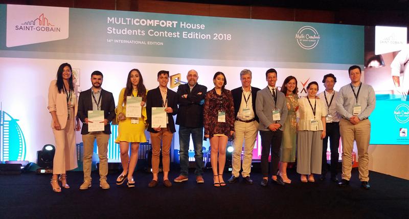 Final del Conucurso MultiComfort House en Dubái