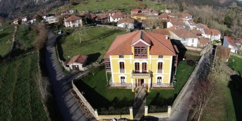Obra de rehabilitación integral de casona de indianos de 102 años que forma parte del patrimonio arquitectónico de Asturias para uso como hotel rural