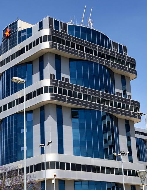 Exterior edificio Torre 2 de Torneo Parque Empresarial de Sevilla
