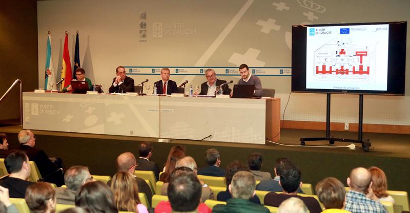 Presentación proyecto mejora de la eficiencia energética del complejo administrativo de San Caetano