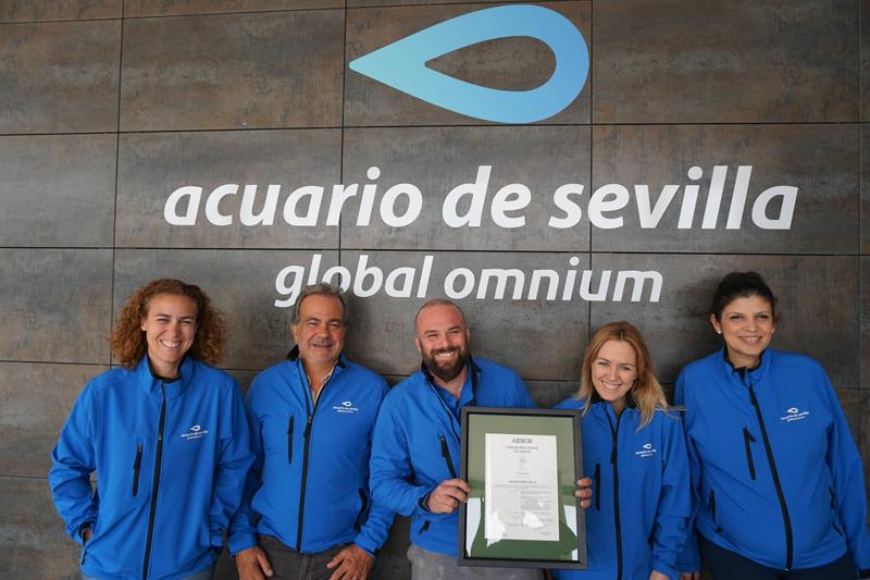 Staff del Acuario de Sevilla