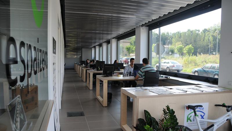 Interior edificio EspaiZero