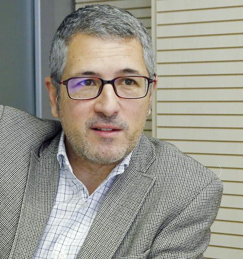 Hugo Alfonso Morán , secretario de Estado de Medio Ambiente