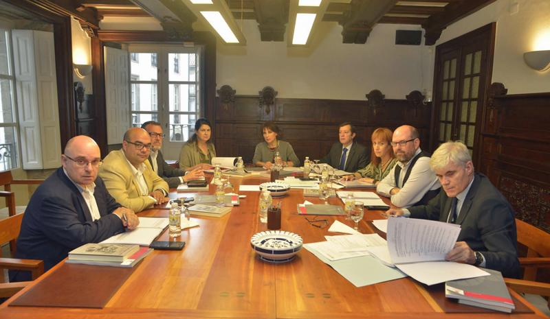 Reunión Consorcio de Santiago de Compostela