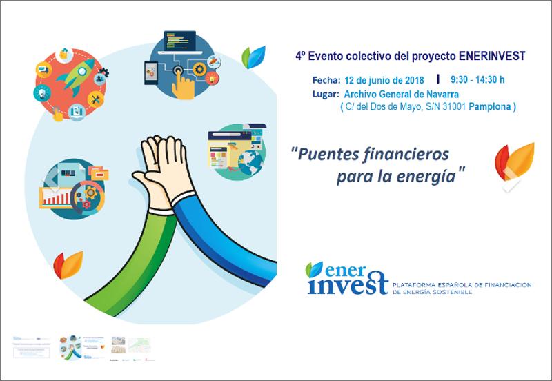 Crtael del evento Puentes financieros para la energía sostenible