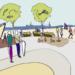 Un equipo de estudiantes elabora una propuesta de arquitectura sostenible para La Base Alinghi en Valencia
