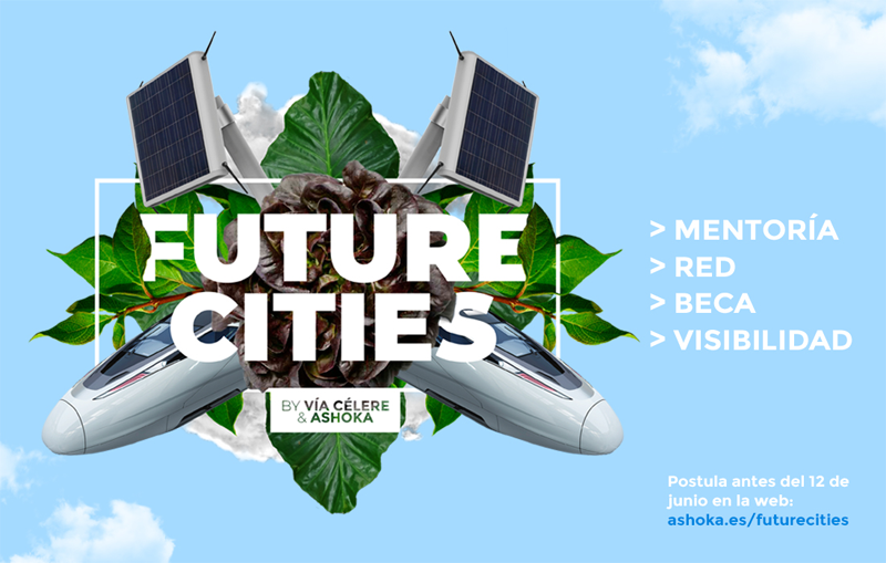 Cartel de la iniciativa Future Cities