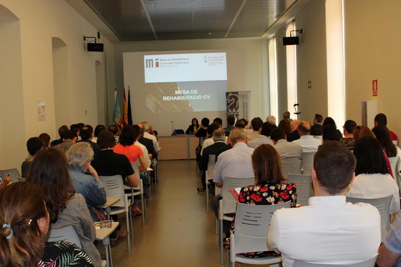 Reunión de la Mesa de Rehabilitación de la Comunidad Valenciana