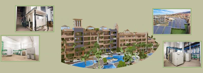 Un 90% del consumo energético del Hotel GF Victoria proviene de energías renovables.