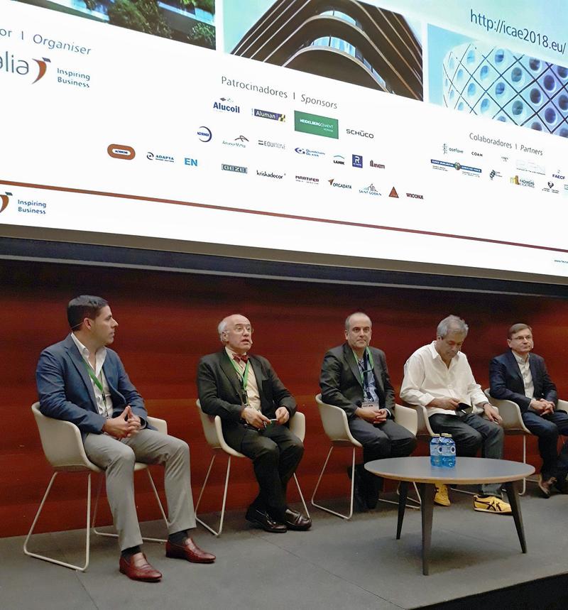 Celebración octava edición del Congreso Internacional de Envolventes Arquitectónicas