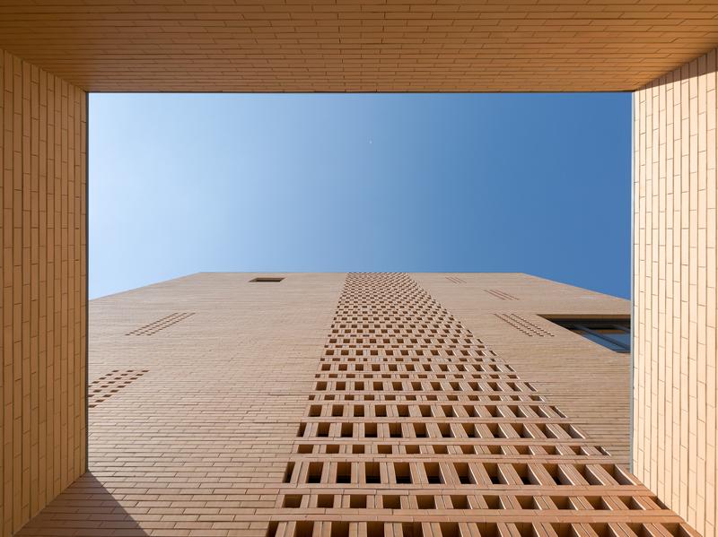 Structura, la fachada autoportante de ladrillo cara vista