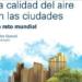 Presentación del libro 'La calidad del aire en las ciudades' el 26 de junio en Madrid