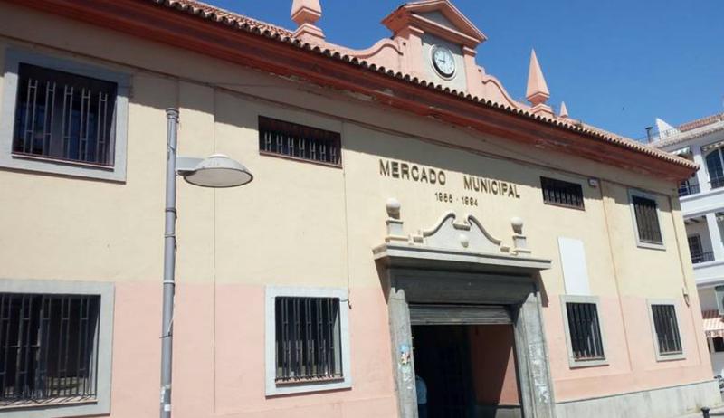 Mercado Municipal de San Agustín en el municipio de Motril