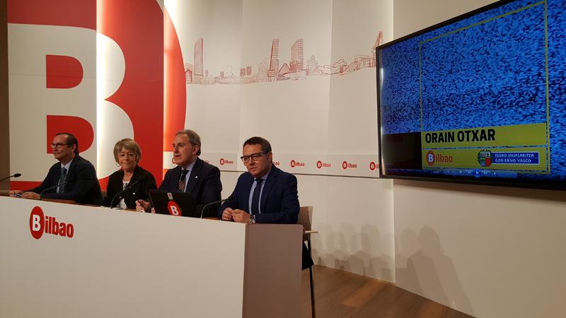 Presentación acuerdo Viviendas Municipales de Bilbao y Gobierno vasco