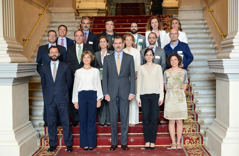 Entrega de los de los Premios Europeos de Medio Ambiente a la Empresa
