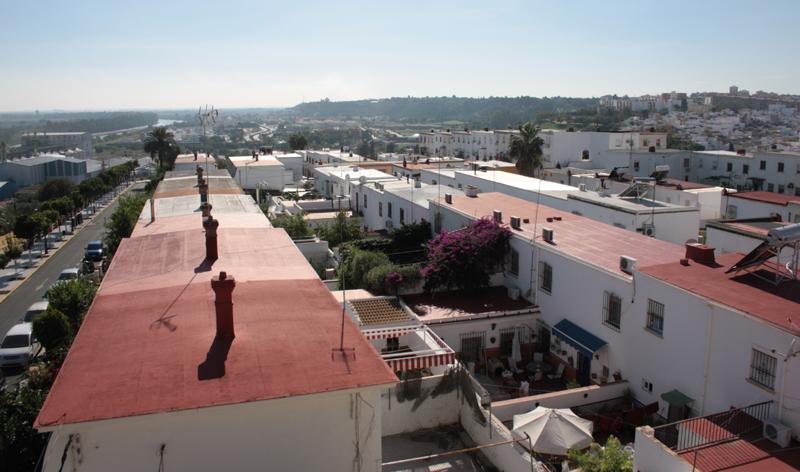 Vista panorámica de San Juan de Aznalfarache
