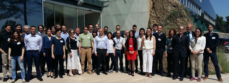 Reunión en Barcelona para el proyecto Houseful
