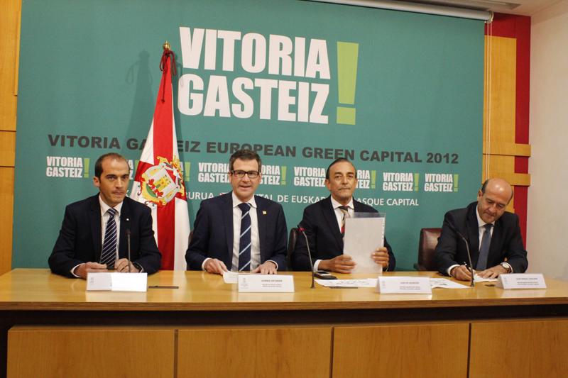 Presentación del proyecto de rehabilitación energética de Coronación en Vitoria