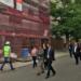 Técnicos europeos visitan las obras de rehabilitación energética en Maestro de Tellería para conocer el trabajo de Zaragoza Vivienda