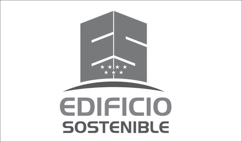 Logo Edificio Sostenible Comunidad de Madrid