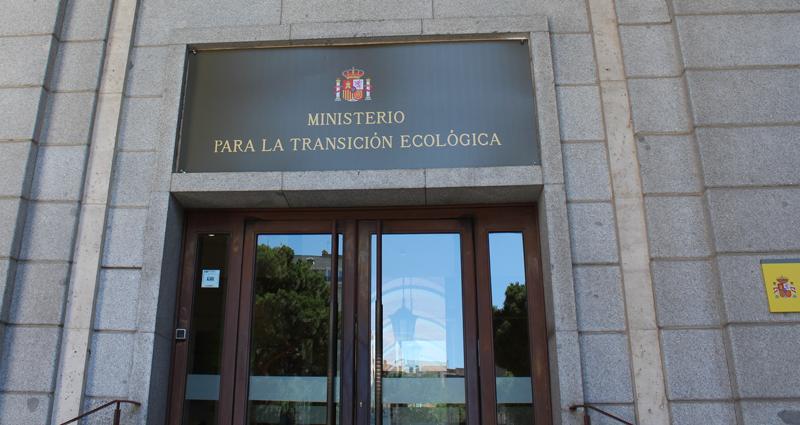 Fachada Ministerio para la Transición Ecológica