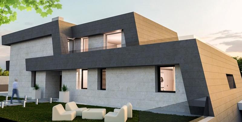 Exterior Casa pasiva Danosa
