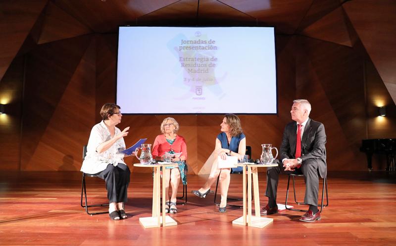 Celebración de las jornadas de debate de la Estrategia de Residuos de Madrid 2018-2022