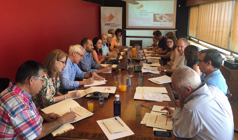 Primera reunión del Comité Estratégico de Innovación Especializado en Economía Circular